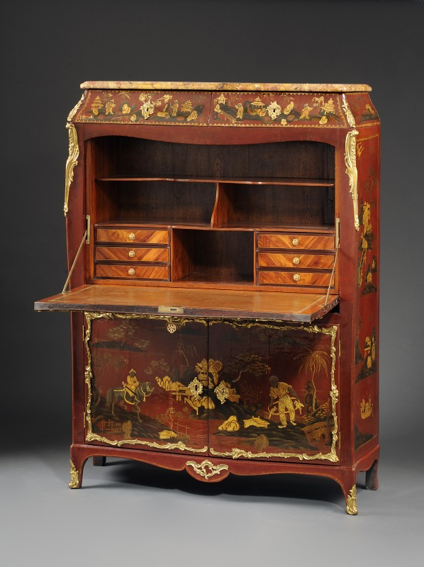 secretaire abattant louis xv secretaire abattant kunsthandel ulf h rtl. Black Bedroom Furniture Sets. Home Design Ideas