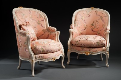 A Pair of Bergères