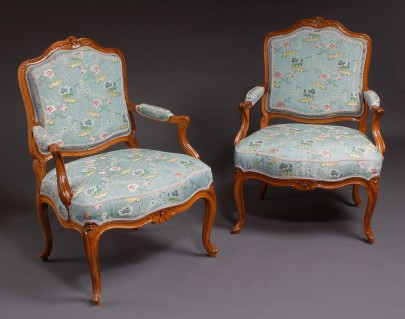 A Pair of Fauteuils