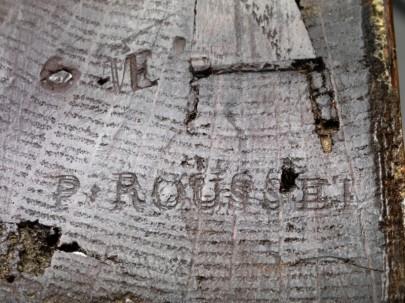 Kommode Louis XV - Pierre Rousselle