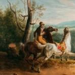 Edouard Swebach - hunting scenes